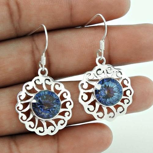 Dream Day! 925 Sterling Silver New Mystic Earrings Wholesaler