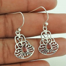 Amazing Design!! Garnet 925 Sterling Silver Earrings Fabricante