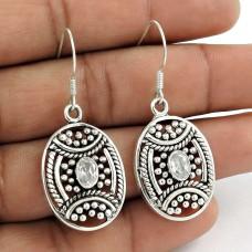 Big Secret Design 925 Sterling Silver Crystal Earrings Wholesaling