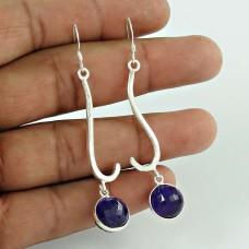Sterling Silver Jewellery Fashion Amethyst Gemstone Earrings Fabricante