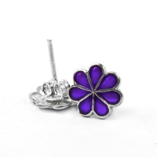 Royal Color!! 925 Sterling Silver Studs Hersteller