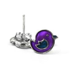 Maya Freedom!! 925 Sterling Silver Enamel Earrings Supplier