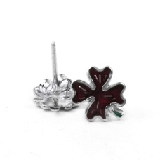 Top Quality African!! 925 Sterling Silver Enamel Earrings Wholesaling