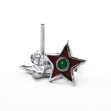 Briliance!! 925 Sterling Silver Enamel Earrings Proveedor