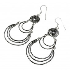 Stunning Natural Rich!! 925 Sterling Silver Earrings Lieferant