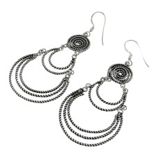 Big Secret Design!! 925 Sterling Silver Earrings Hersteller