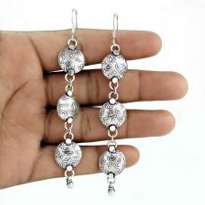 925 Sterling Silver Fashion Jewellery Trendy Silver Earrings Jewellery Mayorista