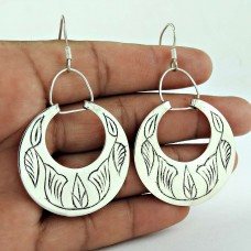 Natural Beauty!! 925 Sterling Silver Earrings Wholesale Price