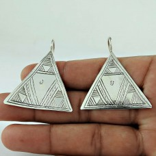 Delicate!! 925 Sterling Silver Earrings Manufacturer India