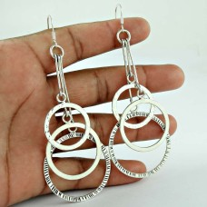 Beautiful Design!! 925 Sterling Silver Earrings Supplier