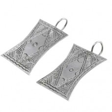 Sterling Silver Fashion Jewellery Rare Silver Earrings Jewellery Manufacturer