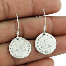 Classy Design !! 925 Sterling Silver Earrings Handmade Jewellery Supplier