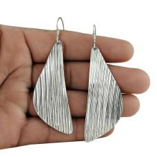 Sterling Silver 925 Jewellery Fashion Silver Earrings Jewellery Grossiste