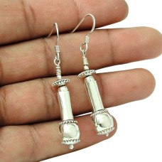 Artisan 925 Sterling Silver Earrings Indian Sterling Silver Jewellery