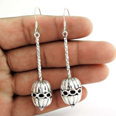 Good-Looking 925 Sterling Silver Earrings 925 Sterling Silver Antique Jewellery