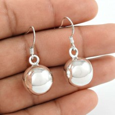 Daily Wear 925 Sterling Silver Ball Earrings 925 Sterling Silver Jewellery