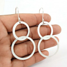 Lovely 925 Sterling Silver Earrings Exporter India