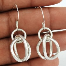 Awesome Style Of! 925 Sterling Silver Earrings Exporter India
