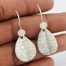 Stylish! 925 Sterling Silver Earrings De gros