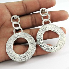 925 Sterling Silver Antique Jewellery Beautiful Silver Earrings Jewellery Großhändler