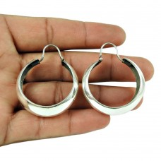 Well-Favoured 925 Sterling Silver Hoop Earring Women Jewellery