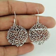 Classy Style! 925 Sterling Silver Earrings Lieferant
