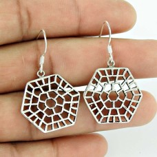 Delicate! 925 Sterling Silver Earrings Fabricante