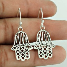 Big Fabulous!! 925 Sterling Silver Earrings Manufacturer India