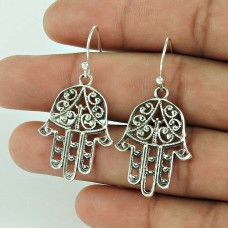Royal Color!! 925 Sterling Silver Earrings Wholesaler India