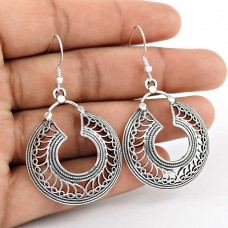Artisan Work!! 925 Sterling Silver Earrings Exporter