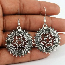 Best Design!! 925 Sterling Silver Earrings Exporter India