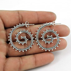 Jumbo Fantastic!! 925 Sterling Silver earrings Mayorista