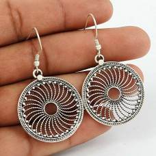 Spell !! 925 Sterling Silver Chakra Earrings Fabricant