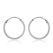 2017 Fashion ! 925 Sterling Silver Hoop Earrings Grossiste