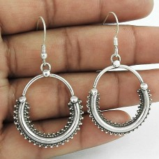 Briliance !! 925 Sterling Silver Earrings Exporter India