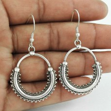 Jumbo !! 925 Sterling Silver Earrings Manufacturer India