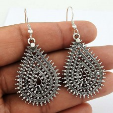 Big Royal Style ! 925 Sterling Silver Dangle Earrings Supplier