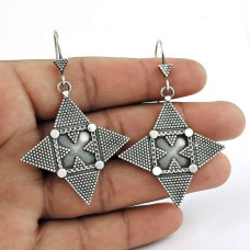 Great Creation !! 925 Sterling Silver Earrings Wholesale Price