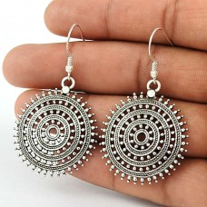 Just Perfect ! 925 Sterling Silver Dangle Earrings Exporter