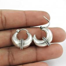 Misty Morning Silver Jewellery Hoop Earrings Hersteller