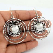Artisan 925 Sterling Silver Earrings Jewellery Wholesale Price