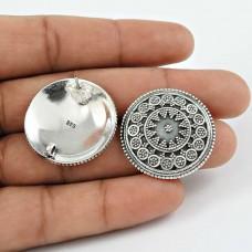 Bright Side Solid 925 Sterling Silver Stud Earrings Grossiste
