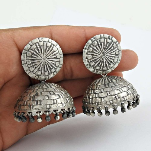 925 sterling silver Indian Jewellery Ethnic Jhumka Großhändler