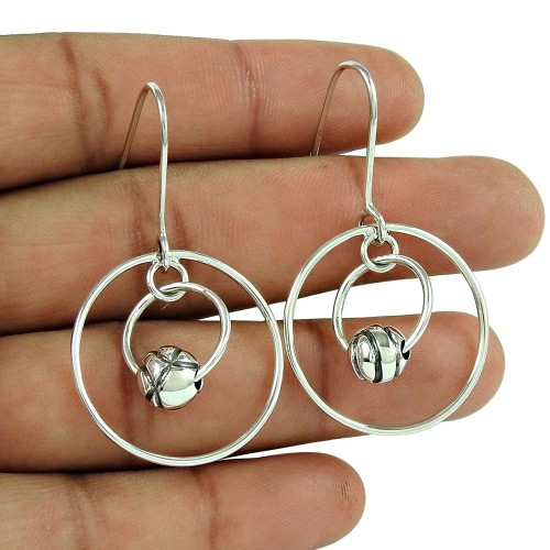 Hot Selling 925 Sterling Silver Traditional Earrings Jewellery