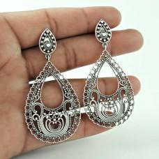Party Wear 925 Sterling Silver Fashion Earring Jewellery Proveedor