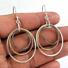 Possessing 925 Sterling Silver Wire Wrap Earring