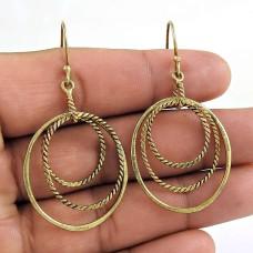 Rare Beauty 925 Sterling Silver Wire Wrap Earring