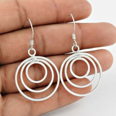 925 Sterling Silver Jewellery Charming Silver Earrings Jewelery Großhandel