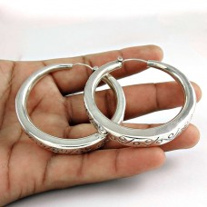 925 Sterling Silver Jewellery Fashion Silver Bali Earrings Supplier India