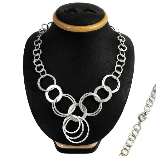 New Awesome 925 Sterling Silver Necklace Jewellery Lieferant